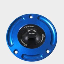 Lightech Tankdeckel Suzuki schwarz/blau